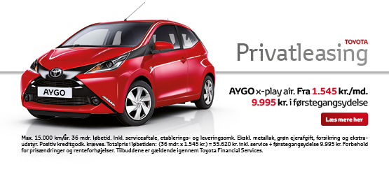 AYGO x-play air privatleasing