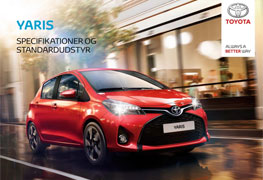 Yaris specifikationer