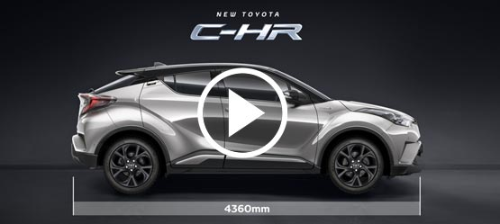 Toyota Hybrid Cars >> TOYOTA C-HR | THE CROSSOVER THAT FLOWS THROUGH LIFE