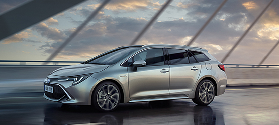 All-new 2019 Corolla Touring Sports Hybrid from €28,420 or from €220 per month**