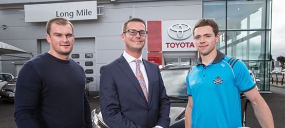 Toyota Long Mile unveils two ambassadors for the dealership