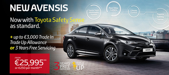 Avensis now offering better spec than its leading competitors
