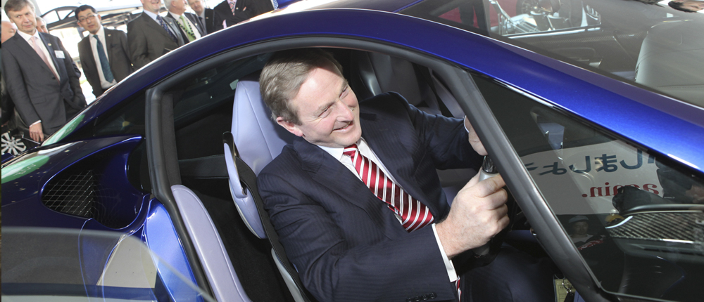 Taoiseach visits Toyota plant in Japan to learn from Toyota Production System and Lean Production processe