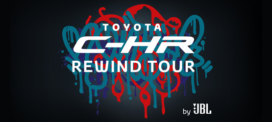 Toyota C-HR Rewind Tour by JBL