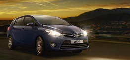 Gamme familiale Toyota