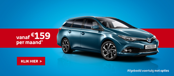 Nieuwe Auris Touring Sports Hybride 1.8 VVT-i Active