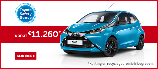 Speciale Serie AYGO x-cite 3d