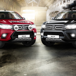 Toyota Hilux Rallye & Bad Boy