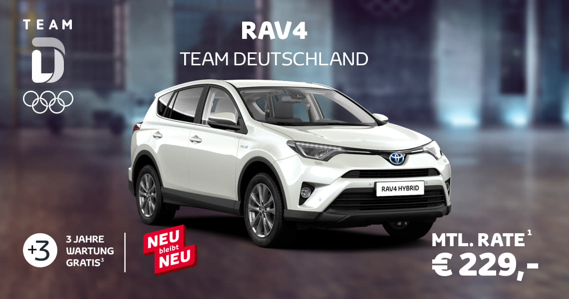 toyota rav4 sondermodell team deutschland toyota de. Black Bedroom Furniture Sets. Home Design Ideas