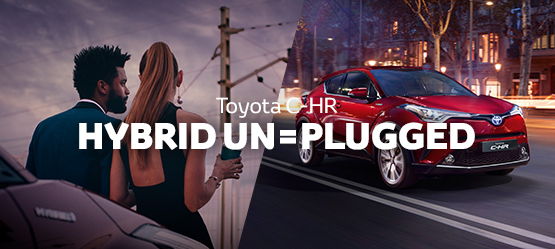 HYBRID UNPLUGGED - Toyota C-HR