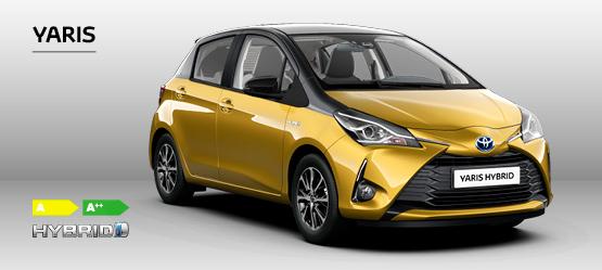 Toyota Yaris i en ny, smart jubilæumsudgave