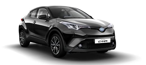Nu kan du privatlease Toyota C-HR Hybrid C-LUB