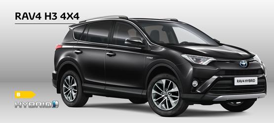 Spar 42.000 kr. på firehjulstræk til din RAV4 H3 Hybrid
