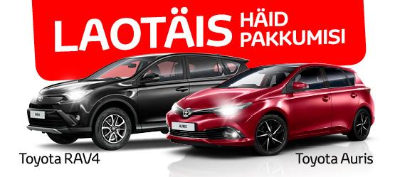 Toyota head pakkumised