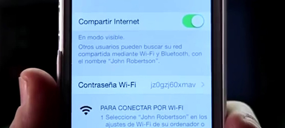 Comparte Internet con Toyota Touch2