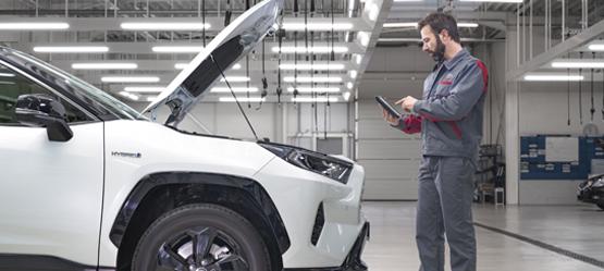Ventajas de acudir al Taller oficial Toyota
