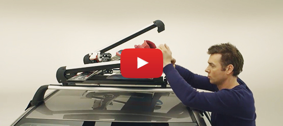 How to install a ski and snowboard holder
