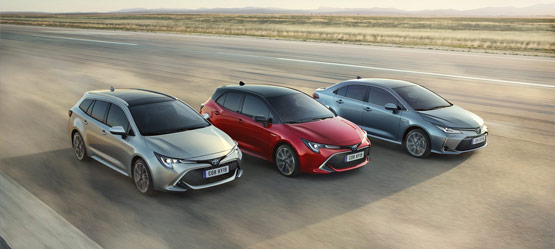 Discover the Toyota Corolla hybrid family