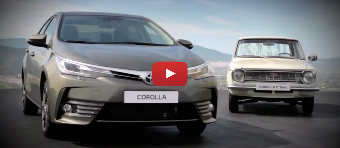 Toyota Corolla turns 50