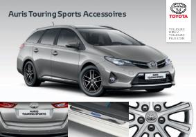 brochure accessoires toyota auris touring sports. Black Bedroom Furniture Sets. Home Design Ideas