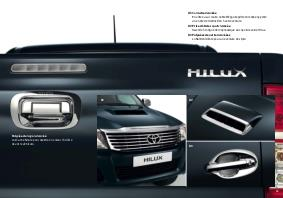 brochure accessoires toyota hilux. Black Bedroom Furniture Sets. Home Design Ideas