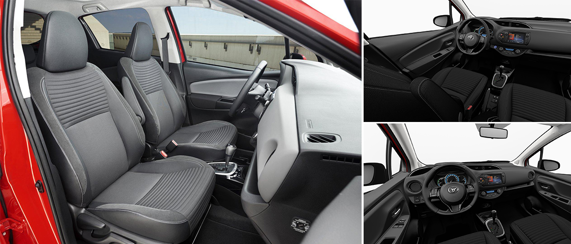 Yaris collection archives concessionnaire toyota for Interieur yaris hybride