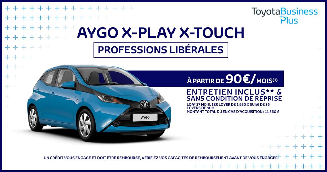 toyota aygo | offre spéciale professions libérales