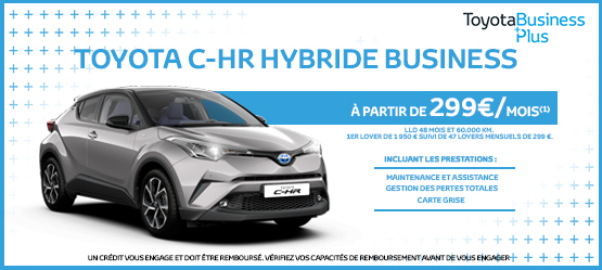 Nouveau Toyota C-HR Hybride Business