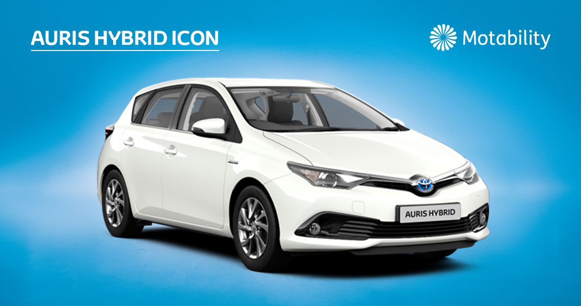 Auris Icon 1.8 Hybrid Automatic inc Toyota Safety Sense Pre-Collision System with £495 advance payment (Motability Users Only)