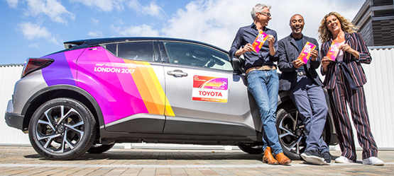 Toyota is a proud partner with the World Para Athletics Championships and IAAF World Championships