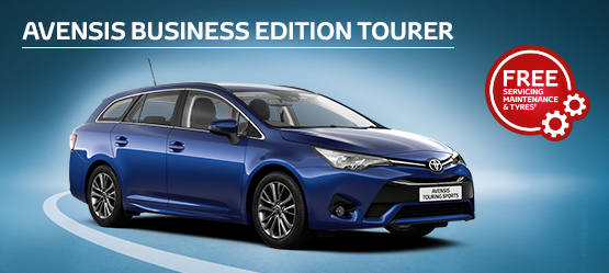 Avensis Touring Sports Business Edition from £186 + VAT per month^ (Contract Hire)