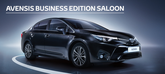 Avensis Icon Business Edition Saloon from £180 + VAT per month†  (Contract Hire)