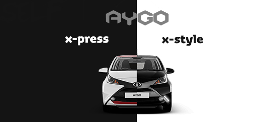 AYGO x-press and x-style