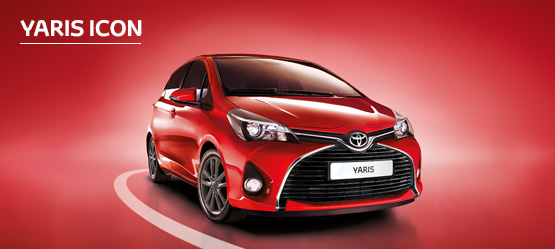 Yaris Icon from £165 + VAT per month† (Contract Hire)