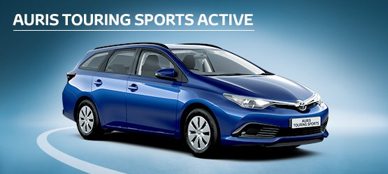 Auris Touring Sports Active with £199 advance payment (Motability Users Only).