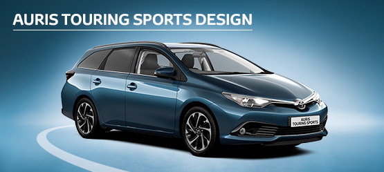 Auris Touring Sports Design 0% APR Representative*