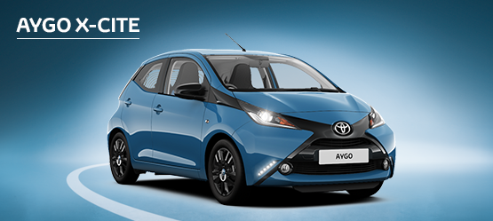 New AYGO X-cite with 0% APR Representative*