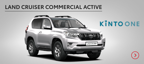 Land Cruiser Commercial Active £419 + VAT per month* (Customer maintained)