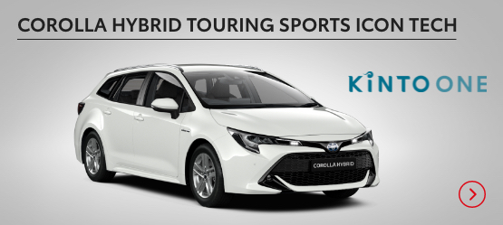 Corolla Hybrid Touring Sports Icon Tech £200 + VAT per month* (Customer maintained)