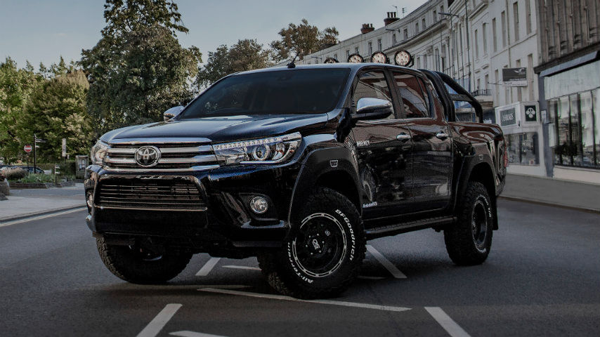 Hilux Invincible 50   New Cars   Toyota UK