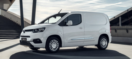 The All New Toyota PROACE CITY