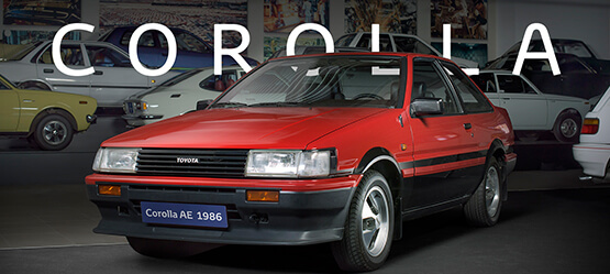 COROLLA   History Of Toyota Sports Cars
