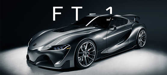 Visions of the future - History of Toyota sports cars