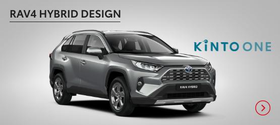 RAV4 Hybrid Design £258 + VAT per month* (Customer maintained)