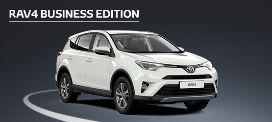 RAV4 Business Edition from £231 + VAT per month† (Contract Hire)