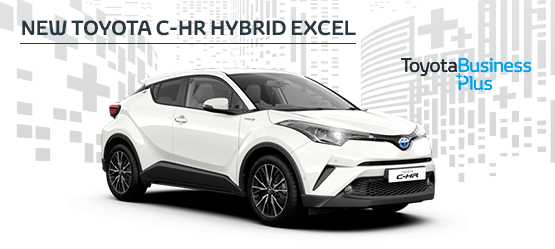 All New Toyota C-HR Hybrid £219 + VAT per month* (Non-Maintained Contract Hire)