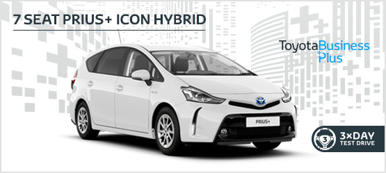 Prius+ Icon Hybrid £229 + VAT per month* (Customer maintained)