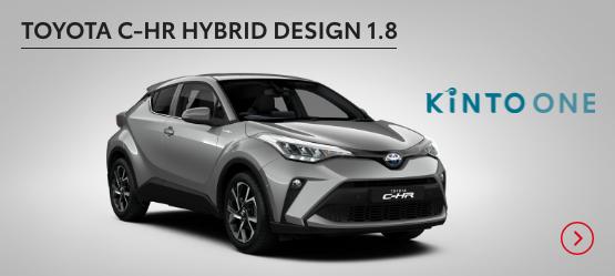 Toyota C-HR Hybrid Design 1.8 <br data-verified=