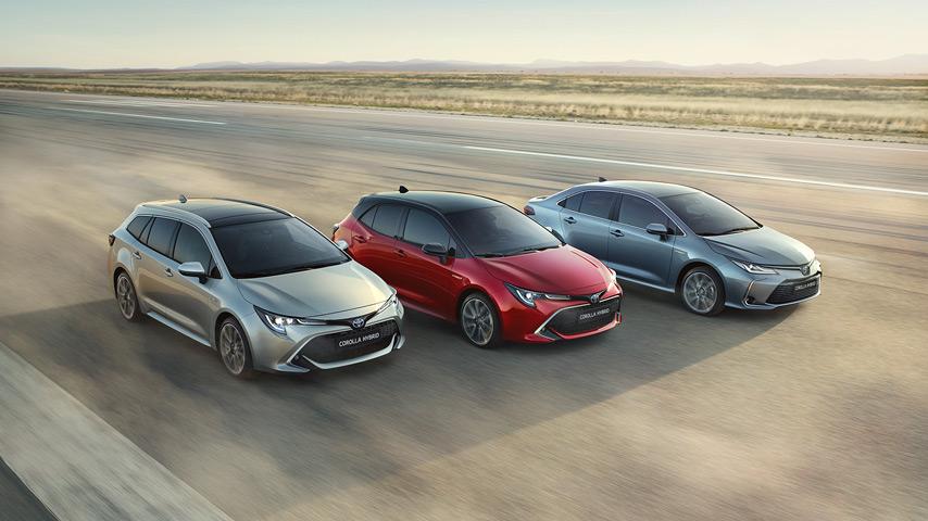Toyota Lehullt A Lepel Az J Corolla Szedn Vltozatrl
