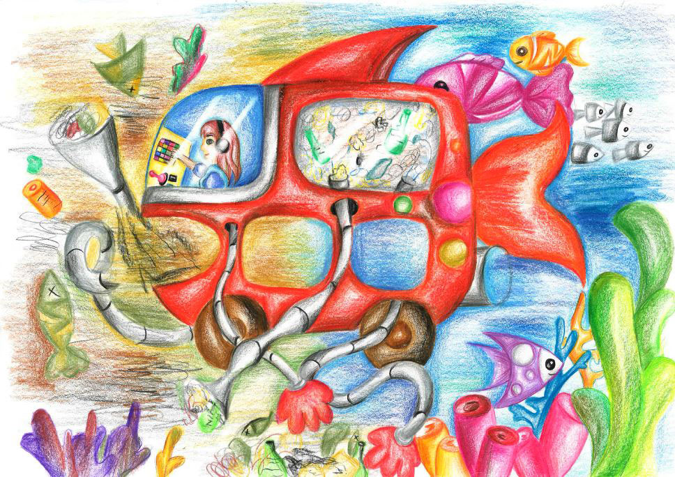 Dream Car Art - The Ocean Cleaner